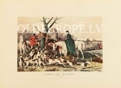 Fox hunting. The Death. 1854